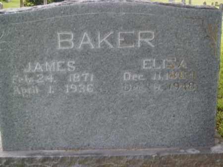 BAKER, ELIZA - Boone County, Arkansas | ELIZA BAKER - Arkansas Gravestone Photos
