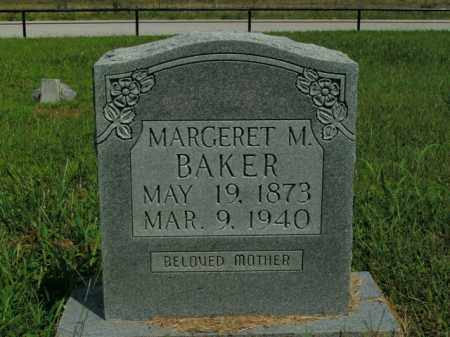 BAKER, MARGERET M. - Boone County, Arkansas | MARGERET M. BAKER - Arkansas Gravestone Photos