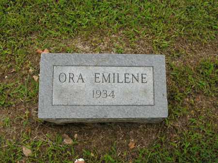 BAKER, ORA EMILENE - Boone County, Arkansas | ORA EMILENE BAKER - Arkansas Gravestone Photos