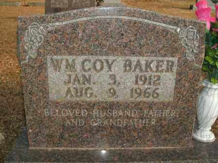BAKER, WILLIAM COY - Boone County, Arkansas | WILLIAM COY BAKER - Arkansas Gravestone Photos
