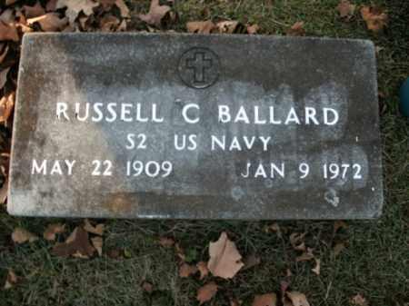 BALLARD  (VETERAN ), RUSSELL C - Boone County, Arkansas | RUSSELL C BALLARD  (VETERAN ) - Arkansas Gravestone Photos