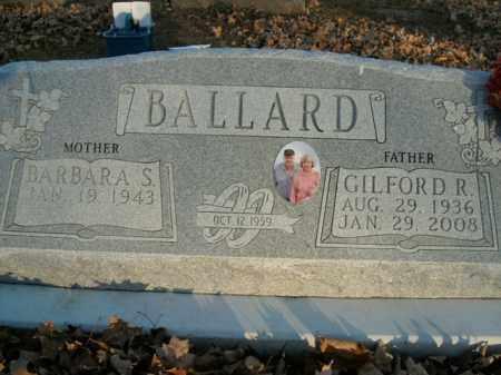 BALLARD, GILFORD R. - Boone County, Arkansas | GILFORD R. BALLARD - Arkansas Gravestone Photos