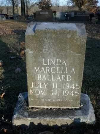 BALLARD, LINDA MARCELLA - Boone County, Arkansas | LINDA MARCELLA BALLARD - Arkansas Gravestone Photos