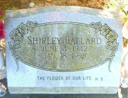 BALLARD, SHIRLEY - Boone County, Arkansas | SHIRLEY BALLARD - Arkansas Gravestone Photos