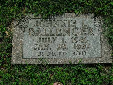 BALLENGER, JOHNNIE L. - Boone County, Arkansas | JOHNNIE L. BALLENGER - Arkansas Gravestone Photos