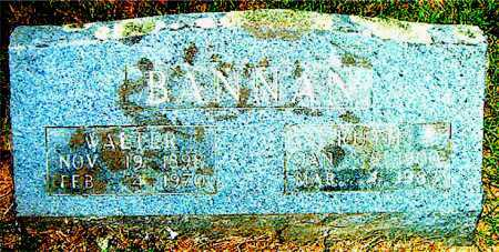 SCHATZLY BANNAN, RUTH - Boone County, Arkansas | RUTH SCHATZLY BANNAN - Arkansas Gravestone Photos