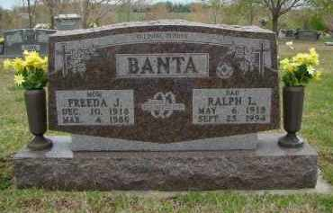 BANTA, FREEDA J. - Boone County, Arkansas | FREEDA J. BANTA - Arkansas Gravestone Photos