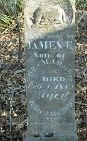 BARBEE, JAMES E. - Boone County, Arkansas | JAMES E. BARBEE - Arkansas Gravestone Photos