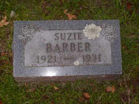 BARBER, SUZIE - Boone County, Arkansas | SUZIE BARBER - Arkansas Gravestone Photos