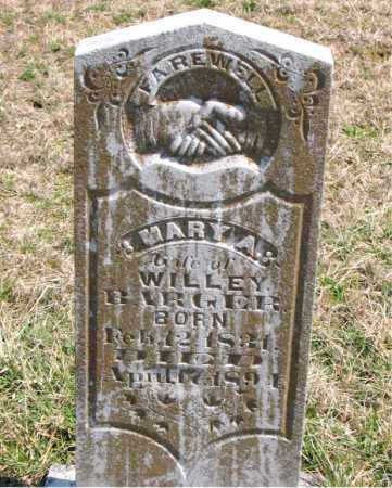 BARGER, MARY A. - Boone County, Arkansas | MARY A. BARGER - Arkansas Gravestone Photos