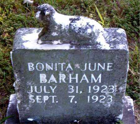 BARHAM, BONITA JUNE - Boone County, Arkansas | BONITA JUNE BARHAM - Arkansas Gravestone Photos