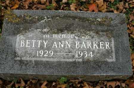 BARKER, BETTY ANN - Boone County, Arkansas | BETTY ANN BARKER - Arkansas Gravestone Photos