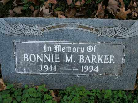 BARKER, BONNIE M. - Boone County, Arkansas | BONNIE M. BARKER - Arkansas Gravestone Photos