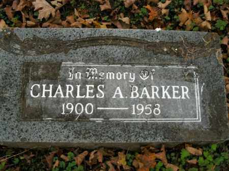 BARKER, CHARLES ARVEL - Boone County, Arkansas | CHARLES ARVEL BARKER - Arkansas Gravestone Photos