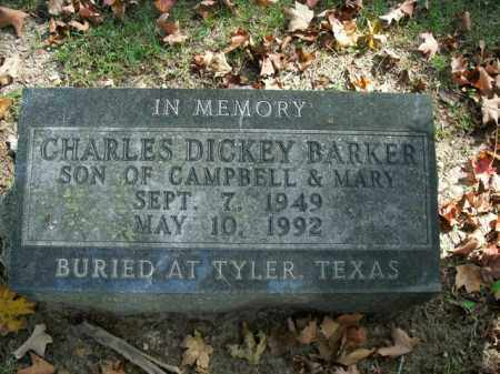 BARKER, CHARLES DICKEY - Boone County, Arkansas | CHARLES DICKEY BARKER - Arkansas Gravestone Photos