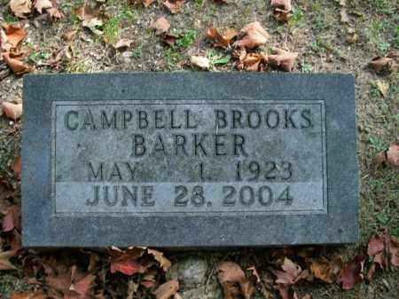 BARKER, CAMPBELL BROOKS - Boone County, Arkansas | CAMPBELL BROOKS BARKER - Arkansas Gravestone Photos