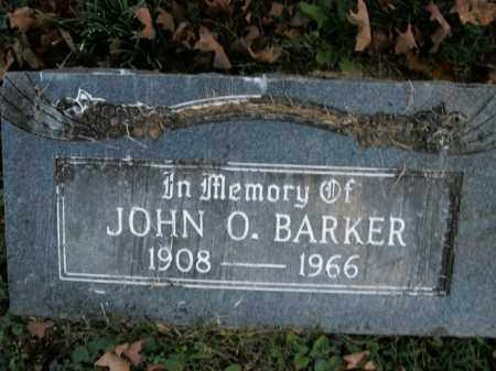 BARKER, JOHN O. - Boone County, Arkansas | JOHN O. BARKER - Arkansas Gravestone Photos