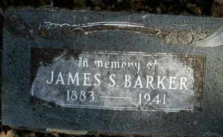 BARKER, JAMES S. - Boone County, Arkansas | JAMES S. BARKER - Arkansas Gravestone Photos