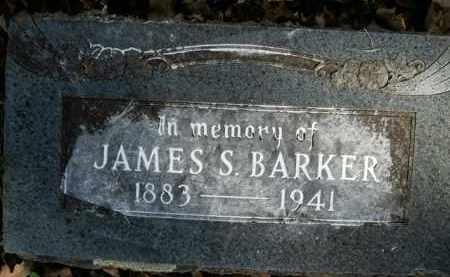 BARKER, JAMES S. - Boone County, Arkansas | JAMES S. BARKER - Arkansas Gravestone Photos