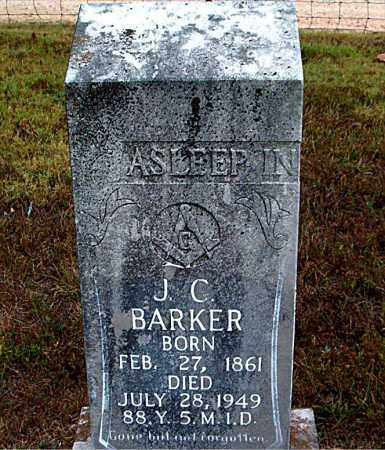 BARKER, JOHN CARROLL - Boone County, Arkansas | JOHN CARROLL BARKER - Arkansas Gravestone Photos