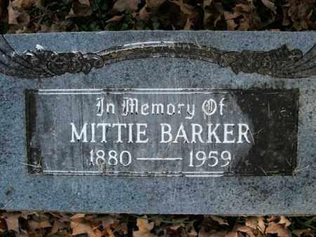 BARKER, MITTIE - Boone County, Arkansas | MITTIE BARKER - Arkansas Gravestone Photos