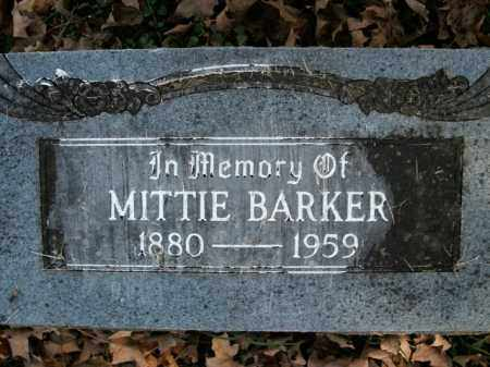 BARKER, LAURA MITTIE - Boone County, Arkansas | LAURA MITTIE BARKER - Arkansas Gravestone Photos