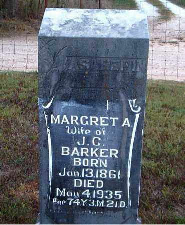 BARKER, MARGRET A. - Boone County, Arkansas | MARGRET A. BARKER - Arkansas Gravestone Photos