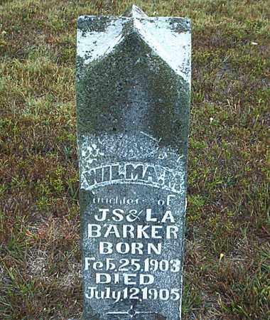 BARKER, WILMA M. - Boone County, Arkansas | WILMA M. BARKER - Arkansas Gravestone Photos