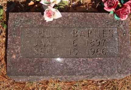 BARNES, E. HULL - Boone County, Arkansas | E. HULL BARNES - Arkansas Gravestone Photos