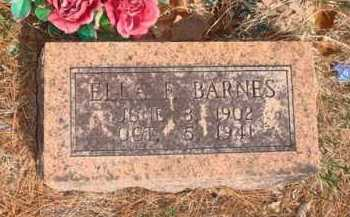 BARNES, ELLA F. - Boone County, Arkansas | ELLA F. BARNES - Arkansas Gravestone Photos