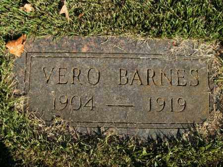 BARNES, VERO - Boone County, Arkansas | VERO BARNES - Arkansas Gravestone Photos
