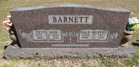 BARNETT, DALE MURPHY - Boone County, Arkansas | DALE MURPHY BARNETT - Arkansas Gravestone Photos