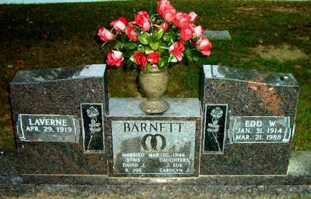 BARNETT, EDD   W. - Boone County, Arkansas | EDD   W. BARNETT - Arkansas Gravestone Photos