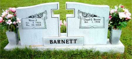 BARNETT, NINA J. - Boone County, Arkansas | NINA J. BARNETT - Arkansas Gravestone Photos