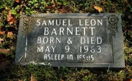 BARNETT, SAMUEL LEON - Boone County, Arkansas | SAMUEL LEON BARNETT - Arkansas Gravestone Photos