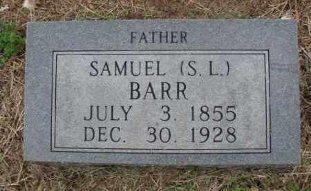 BARR, SAMUEL (S.L.) - Boone County, Arkansas | SAMUEL (S.L.) BARR - Arkansas Gravestone Photos