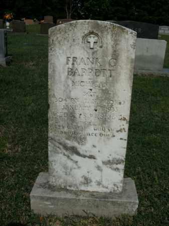 BARRETT  (VETERAN), FRANK C. - Boone County, Arkansas | FRANK C. BARRETT  (VETERAN) - Arkansas Gravestone Photos