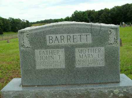 BARRETT, JOHN T. - Boone County, Arkansas | JOHN T. BARRETT - Arkansas Gravestone Photos