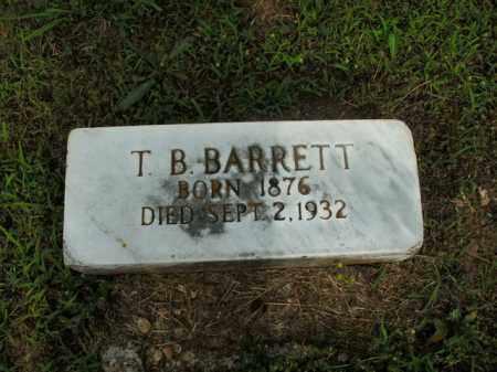 BARRETT, T. B. - Boone County, Arkansas | T. B. BARRETT - Arkansas Gravestone Photos