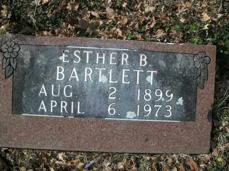 BARTLETT, ESTHER B. - Boone County, Arkansas | ESTHER B. BARTLETT - Arkansas Gravestone Photos