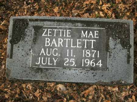 BARTLETT, ZETTIE MAE - Boone County, Arkansas | ZETTIE MAE BARTLETT - Arkansas Gravestone Photos