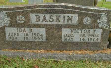 BASKIN, IDA B. - Boone County, Arkansas | IDA B. BASKIN - Arkansas Gravestone Photos