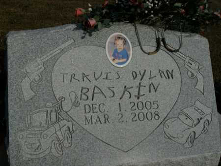 BASKIN, TRAVIS DYLAN - Boone County, Arkansas | TRAVIS DYLAN BASKIN - Arkansas Gravestone Photos
