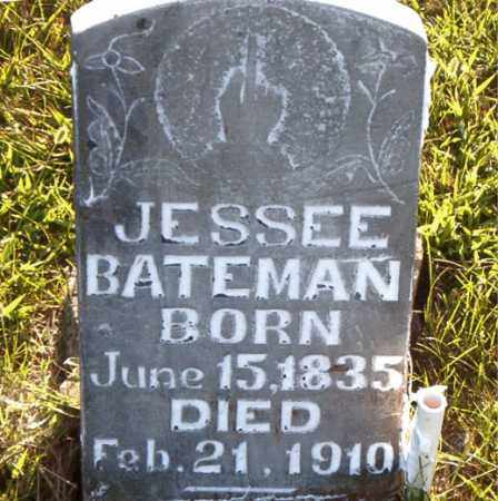 BATEMAN, JESSEE - Boone County, Arkansas | JESSEE BATEMAN - Arkansas Gravestone Photos