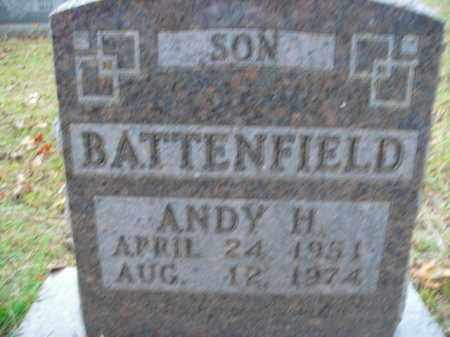 BATTENFIELD, ANDY H. - Boone County, Arkansas | ANDY H. BATTENFIELD - Arkansas Gravestone Photos
