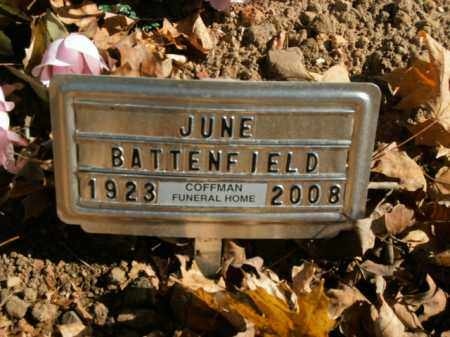 BATTENFIELD, JUNE - Boone County, Arkansas | JUNE BATTENFIELD - Arkansas Gravestone Photos