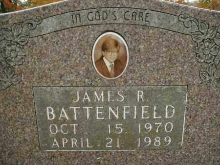 BATTENFIELD, JAMES R. - Boone County, Arkansas | JAMES R. BATTENFIELD - Arkansas Gravestone Photos