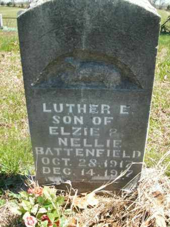 BATTENFIELD, LUTHER E. - Boone County, Arkansas | LUTHER E. BATTENFIELD - Arkansas Gravestone Photos