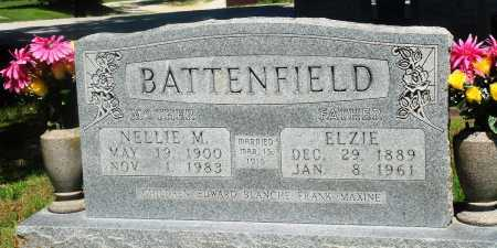 BATTENFIELD, ELZIE - Boone County, Arkansas | ELZIE BATTENFIELD - Arkansas Gravestone Photos