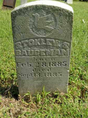 BAUGEMAN, STOKLEY S. - Boone County, Arkansas | STOKLEY S. BAUGEMAN - Arkansas Gravestone Photos